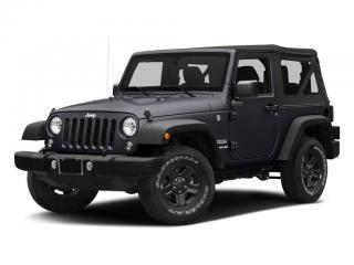 Used 2018 Jeep Wrangler Sport 4X4 for sale in Kingston, ON