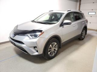 Used 2017 Toyota RAV4 Hybrid LE+|Loaded|50MPG|AWD|Htd Seats|Cam|N.Tires for sale in Brandon, MB