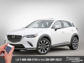 Used 2019 Mazda CX-3 GT Courtesy Car Htd Leather Save Thousands for sale in Brandon, MB