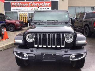 New 2020 Jeep Wrangler UNLIMITED SAHARA 4X4 / DUAL TOPS/ NAV for sale in Milton, ON