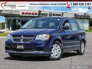 Used 2015 Dodge Grand Caravan SE / SXT for sale in Cornwall, ON