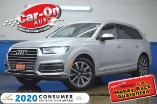 Used 2017 Audi Q7 3.0T Technik AWD 7 SEAT LEATHER NAV PANO ROOF 360 for sale in Ottawa, ON