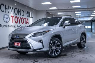 Used 2016 Lexus RX 450h Executive  - Leather Seats for sale in Richmond Hill, ON