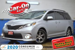 Used 2017 Toyota Sienna SE 8 Passenger LEATHER NAV SUNROOF DVD LOADED for sale in Ottawa, ON