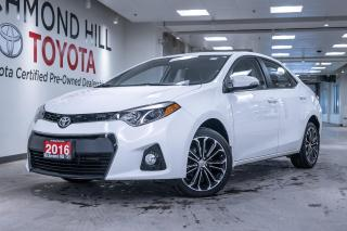 Used 2016 Toyota Corolla 4DR SDN CVT SE for sale in Richmond Hill, ON
