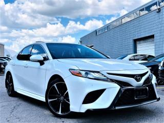 Used 2018 Toyota Camry |XSE|PANORAMIC|ADAPTIVE CRUISE|LANE ASSIST|HEATED SEATS! for sale in Brampton, ON