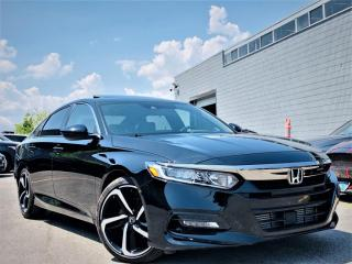 Used 2018 Honda Accord Sedan |SPORT|SUNROOF|HEATED SEATS|LANE WATCH|ADAPTIVE CRUISE! for sale in Brampton, ON