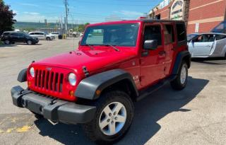 Used 2007 Jeep Wrangler 4WD 4dr Unlimited X, manual transmission, A/C for sale in Halton Hills, ON
