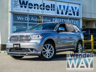 Used 2019 Dodge Durango Citadel 1 Owner for sale in Kitchener, ON