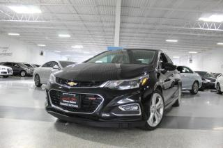 Used 2016 Chevrolet Cruze PREMIER RS NO ACCIDENTS I LEATHER I SUNROOF I REAR CAM I BT for sale in Mississauga, ON