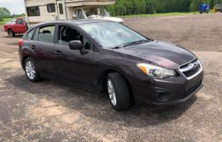 Used 2012 Subaru Impreza 5DR HB MAN 2.0I W/TOURING PKG for sale in Brampton, ON