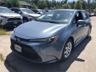 New 2020 Toyota Corolla for sale in North Vancouver, BC