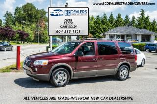 Used 2008 Pontiac Montana Sv6 Extended w/1SC, DVD, Local, No Accidents, 155k, Clean! for sale in Surrey, BC