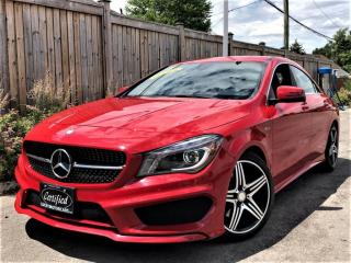 Used 2016 Mercedes-Benz CLA-Class CLA250 4MATIC AMG SPORT PERFORMANCE PKG-NO ACCIDENTS-25KMS for sale in Toronto, ON