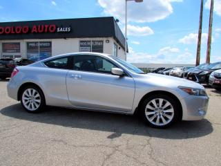 Used 2010 Honda Accord EX-L V-6 COUPE AUTOMATIC LEATHER SUNROOF CERTIFIED for sale in Milton, ON