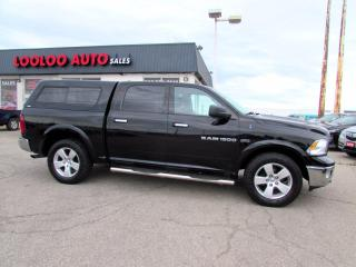 Used 2012 Dodge Ram 1500 Outdoorsman Crew Cab 4WD 5.7L HEMI BLUETOOTH CERTIF for sale in Milton, ON