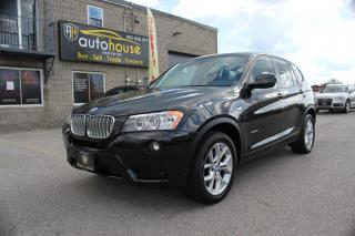 Used 2014 BMW X3 NAVI,AWD,PANAROOF,BACKUP CAMERA,NEW SUMMER & WINTER TIRES for sale in Newmarket, ON