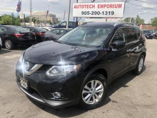 Used 2016 Nissan Rogue SV Technology Navigation/360 Camera/Sunroof for sale in Mississauga, ON
