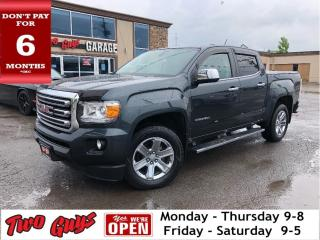 Used 2017 GMC Canyon SLE1 | Crew | V6 4x4 | Bluetooth | Pwr Seat for sale in St Catharines, ON