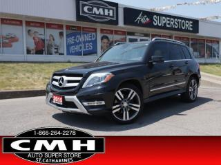 Used 2015 Mercedes-Benz GLK-Class GLK 250 BlueTEC 4MATIC  DIESEL AWD NAV for sale in St. Catharines, ON