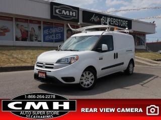 Used 2016 RAM ProMaster City Cargo Van SLT  REAR-CAM BT PARK-SENS for sale in St. Catharines, ON
