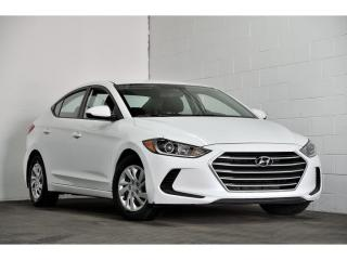 Used 2017 Hyundai Elantra Auto LE for sale in Brossard, QC