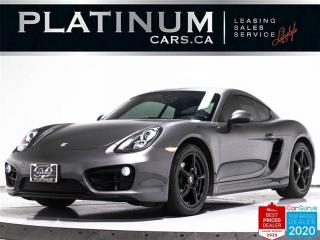 Used 2015 Porsche Cayman 275HP, PDK, BOSE, LEATHER, BLUETOOTH for sale in Toronto, ON