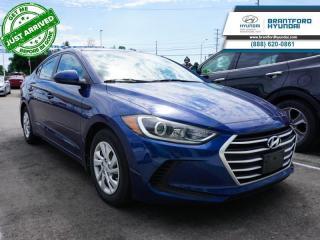 Used 2017 Hyundai Elantra LE  - Bluetooth -  Heated Seats - $86 B/W for sale in Brantford, ON
