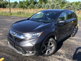 Used 2017 Honda CR-V EX-L AWD for sale in Cayuga, ON
