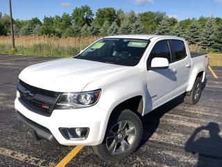 Used 2016 Chevrolet Colorado Z71 Crew Cab 4x4 for sale in Cayuga, ON