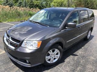 Used 2016 Dodge Grand Caravan Crew 2WD for sale in Cayuga, ON