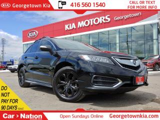 Used 2017 Acura RDX AWD Tech Pkg  ONE OWNER  NAVI   ROOF  BU CAM   B/T for sale in Georgetown, ON