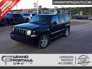 Used 2010 Jeep Patriot north 4x4 auto for sale in Rivière-Du-Loup, QC