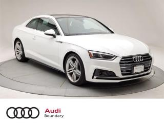 Used 2018 Audi A5 2.0T Technik quattro 7sp S Tronic Cpe for sale in Burnaby, BC