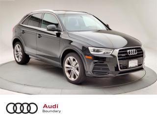 Used 2017 Audi Q3 2.0T Progressiv quattro 6sp Tiptronic for sale in Burnaby, BC