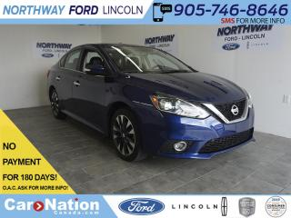 Used 2017 Nissan Sentra SR TURBO | LEATHER | SUNROOF | NAV | ONLY 36 KM! for sale in Brantford, ON
