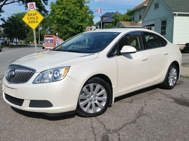 2016 Buick Verano Convenience Pkg. Extremely Low Km's Pearl White Like New!