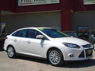 Used 2013 Ford Focus Titanium for sale in West Saint Paul, MB