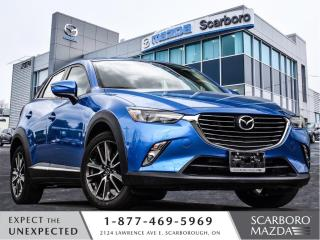 Used 2016 Mazda CX-3 1.5%@FINANCE|NEW BRKAES&TIRES|GT|AWD for sale in Scarborough, ON