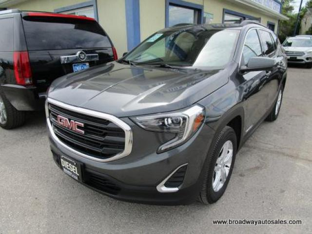 2018 GMC Terrain ALL-WHEEL DRIVE SLE EDITION 5 PASSENGER 1.6L - DIESEL.. NAVIGATION.. HEATED SEATS.. PANORAMIC SUNROOF.. BACK-UP CAMERA.. BLUETOOTH SYSTEM..