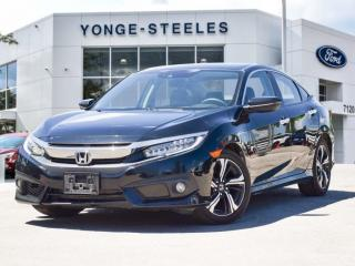Used 2018 Honda Civic Sedan Touring for sale in Thornhill, ON