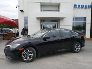 Used 2017 Honda Civic SEDAN LX for sale in Kingston, ON