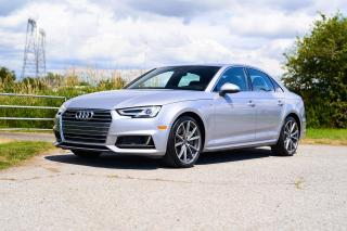 Used 2017 Audi A4 2.0T Technik <b>*LEATHER* *SUNROOF* *NAVIGATION* *PADDLE SHIFTERS*<b> for sale in Surrey, BC
