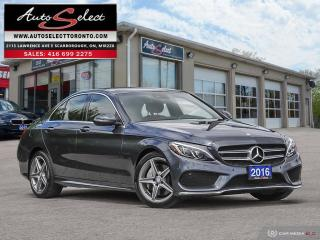 Used 2016 Mercedes-Benz C-Class AWD C300 4MATIC ONLY 81K! **CLEAN CARPROOF** TECH PKG for sale in Scarborough, ON