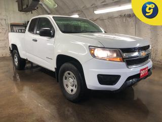 Used 2017 Chevrolet Colorado 2WD Ext Cab * Leather seats * Vinyl floor * Tilt steering * Automatic headlights * Cruise control * Traction control * Intermittent wipers * Climate c for sale in Cambridge, ON