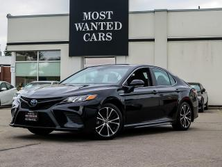 Used 2018 Toyota Camry HYBRID SE HYBRID|BLIND|CAMERA|LANE|LEATHER for sale in Kitchener, ON