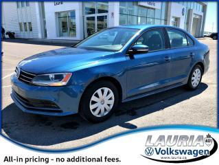 Used 2016 Volkswagen Jetta Sedan TRENDLINE+ AUTO for sale in PORT HOPE, ON