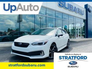 New 2020 Subaru Impreza Sport-Tech w/ EyeSight for sale in Stratford, ON