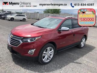 New 2020 Chevrolet Equinox Premier  - Sunroof - Navigation for sale in Orleans, ON