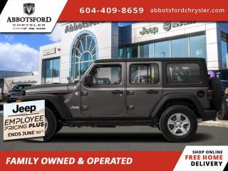 New 2020 Jeep Wrangler Unlimited Sahara - Leather Seats - $299 B/W for sale in Abbotsford, BC